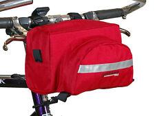 Bushwhacker Durango Red Handlebar Bike Bag Cycling Pack Bicycle Luggage