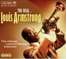 LOUIS ARMSTRONG The Real... 3CD BRAND NEW Digipak The Ultimate Collection