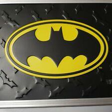 New - 2015 Vaultz Locking Supply Box w/ 2 Keys Embossed 3D Batman Logo Dc Comics