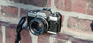 Minolta XD7 + MC Rokkor-PF 58mm f1.4 [fully fonctional, VG+]