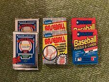 (6)1989 BASEBALL PACKS: (2) UPPER DECK LOW SERIES (2) FLEER (2) DONRUSS GRIFFEY