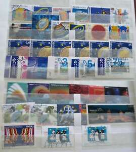 THEMATIC EUROPA (CEPT supplement)  2001   NICE COLLECTION CTO  /ct7201