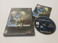 Eternal Ring (Sony PlayStation 2, 2000) Video Game Complete w/ Manual CIB TESTED