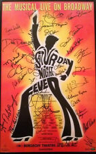 SATURDAY NIGHT FEVER Broadway Signed Poster JAMES CARPINELLO ORFEH Richard Blake