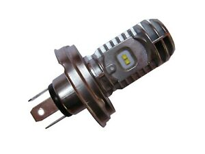 Lampe Birne Bilux weiss LED P45t R2 6V 12V 45/40W MZ Wartburg Trabant Käfer 2CV