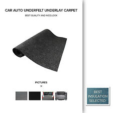 2pcs 1M x 0.3M Auto Floor Underlay Carpet Sheet Moulded Car Underfelt Mats Grey