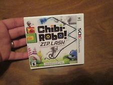Chibi-Robo! Zip Lash Nintendo 3DS VIDEOGAME NEW FACTORY SEALED
