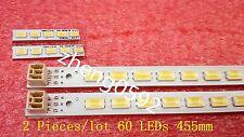 2 PCS LJ64-03029A LA40D550K1R V400H1-L12 LED strrip 40INCH-L1S-60 60 LEDs 455MM