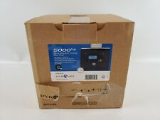 Pyramid Time Systems Pyramid 5000hd Heavy Duty Steel Auto Totaling Time Clock