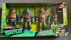"TMNT Teenage Mutant Ninja Turtles Action Figures XL COLLECTION 11"" XLarge Pack 4"