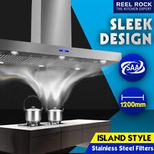 New Island Ceiling Mounted 120cm Rangehood Stainless Steel 1200mm Range Hood