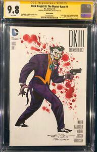 Nick Justus ORIGINAL Sketch SIGNED CGC 9.8 JOKER Batman BRUCE TIMM TRIBUTE CBCS