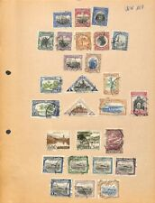 [OP4113] Worldwide lot of stamps on 12 pages