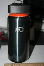 Drink Holder with Clip/Great for Hiking-Preowned/Black w/Orange Trim
