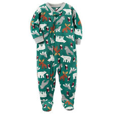 Girls' Clothing (newborn-5t) Clothing, Shoes & Accessories Lot 3 Baby Boys Child Of Mine Carters Fleece Footed Sleepers Preemie Great Shape