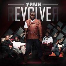 T PAIN Revolver SEALED CD w/ WIZ KHALIFA Chris Brown PITBULL Lil Wayne NE YO