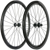 Disc Brake Carbon Road Wheels 38/50/60/88mm Clincher/Tubular 6 Bolt/Center Lock