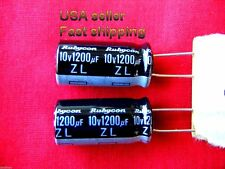 4 pcs   -  1200uf 10v  low ESR electrolytic capacitors FREE SHIPPING