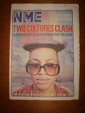 NME 1986 NOV 1 SHINEHEAD CYNDI LAUPER BOWIE HUEY LEWIS