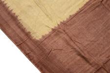 Vintage Indian Pure Cotton Saree Handloom Textile Printed Sari Ethnic Fabric