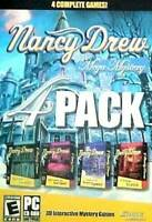 Nancy Drew Mega Mystery 4 Pack: Secrets Can Kill, Stay Tuned for Dan - VERY GOOD