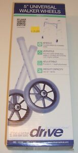 "5"" Replacement Walker Wheels ~ Drive Medical ~ 1 set"