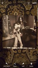 Neil Young Official Release Series 1-4 Record box set Numbered Edition