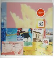Canada Post Office Yearbook Annual Collection 2002 Fresh with original seal wrap