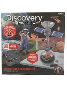 Discovery Mindblown Weather Terrarium Build and Play Kit 8+ Weather Plant Life
