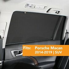 Window Sun Shade Baby Screen Protection Compatible with PORSCHE MACAN 2014-2019