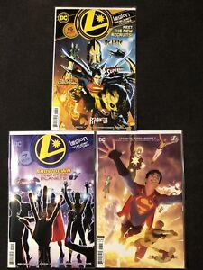 Legion of Super Heroes #6 2nd print 1st Appearance Golden Lantern #7 A B Set NM