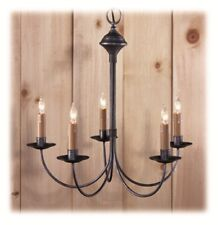 Country Traditions Lighting Chandelier C411 5 Black New Contemporary