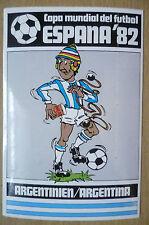 1982 COPA MUNDIAL DEL FUTBOL STICKER- ARGENTINIER/ARGENTINA- ESPANA 82 (12x8 cm)