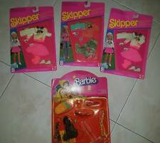 Barbie Skipper Trendy Teen Outfit vestiti accessori Box anni 80 90 Mattel lotto