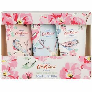 Cath Kidston London Assorted Blossom Birds Hand Cream Trio, 3 x 30 ml Gift Set