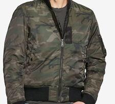 NEW Denim & Supply Ralph Lauren Men's Slim Camo Down Bomber Jacket Sz XL $198