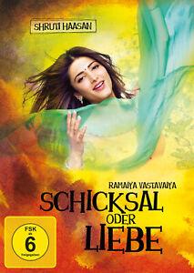 RAMAIYA VASTAVAIYA/ SCHICKSAL ODER LIEBE - Bollywood DVD - Shruti Haasan