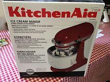 New Kitchenaid Ice Cream Maker Stand Mixer Attachment-Model Kica0Wh