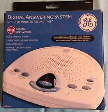 GE 29875GE1 Digital Phone Answering Machine English & Espanol Tested