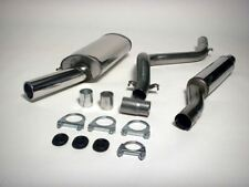 MK1/2 SCIROCCO Stainless Steel Jetex Racing Exhaust System, Mk1 Golf/Sci