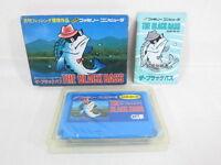 THE BLACK BASS Famicom Nintendo Import Video fc