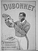 PUBLICITÉ DE PRESSE 1908 DUBONNET VIN TONIQUE AU QUIQUINA - ADVERTISING