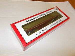 INTERMOUNTAIN HO 60' WOOD DECK FLAT CAR (KANSAS CITY SOUTHERN) # 515,RARE