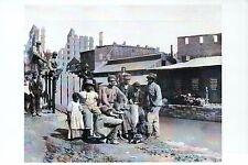 Freedmen, Former African American Slaves, VA -- Black History Civil War Postcard