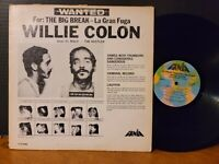 Willie Colon - Wanted By FBI  The Big Break - La Gran Fuga 1970 Fania Mono Vinyl