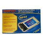 CompUSA USB V2.0 Cardbus PC Card Adapter - NEW