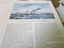 Hamburg Archiv 2 Geschichte 2058 De >Beurs von Amsterdam HH Helgoland retour