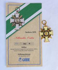 Göde Abzeichen Sachsen --Albrechts Orden--