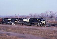 ORIGINAL KODACHROME RAILROAD 4 PACK SPECIAL NORFOLK SOUTHERN HAMILTON, ONT 2001