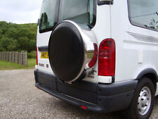 Suzuki Jimny Vitara Steel wheel cover rear spare tyre wheelcover chrome Key Lock
